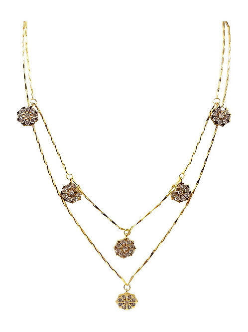 Gold Plated Layered Necklace J05 - 3 Color