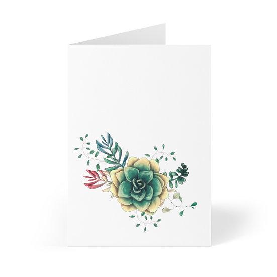 Desert Rose Greeting Cards (8 pcs)
