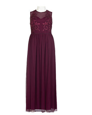 Adrianna Papell Long Party Dress (Plus Size)