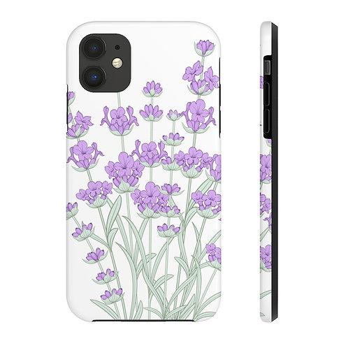 Lavender Sketch Case Mate Tough Phone Cases