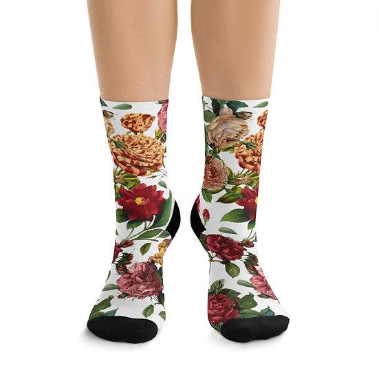 Old English Bouquet Socks