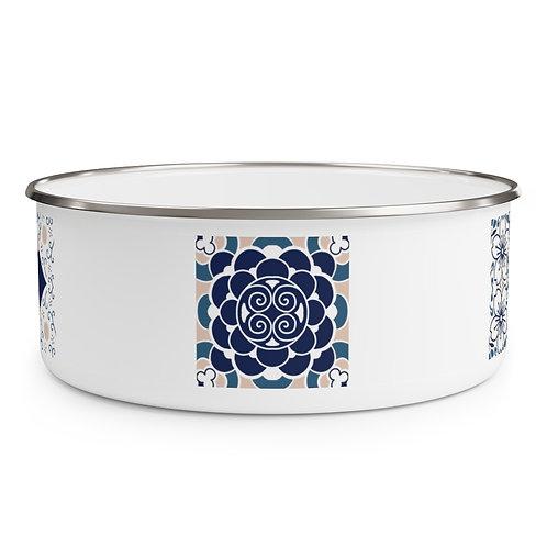 Japanese Design#3 Enamel Bowl