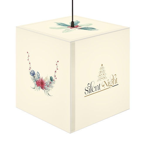 Holiday Personalized Lamp