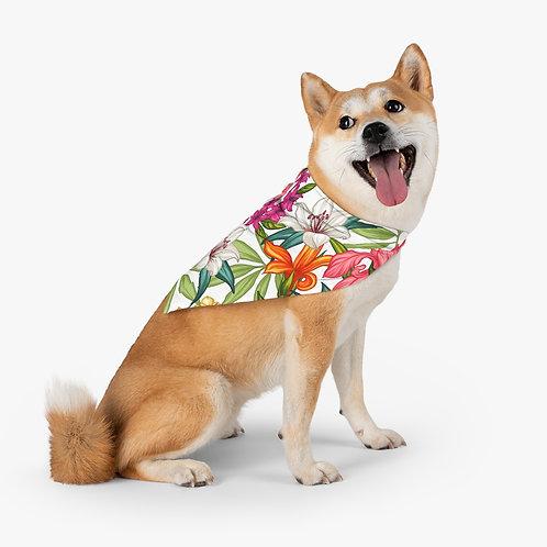 Hawaiian Love  Pet Bandana