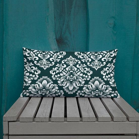 Baroque Emerald Premium Pillow