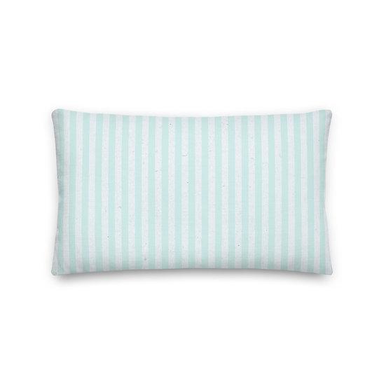 Ocean Stripes Premium Pillow