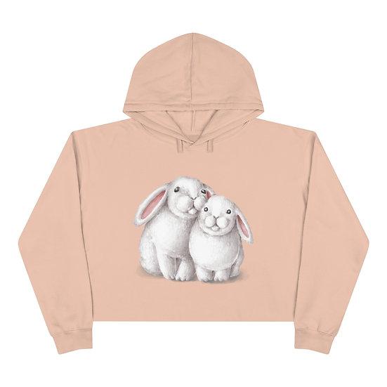 Bunny Crop Hoodie