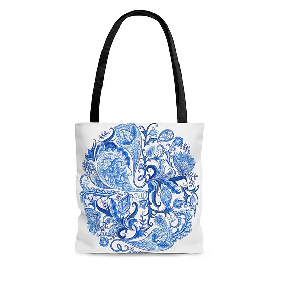 Blue Crystal Ball Tote Bag