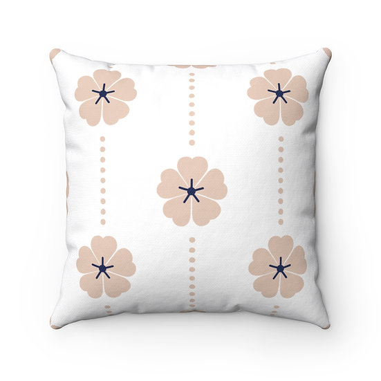 Japanese Decor #9 Spun Polyester Square Pillow