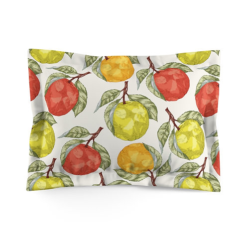 Apples Microfiber Pillow Sham