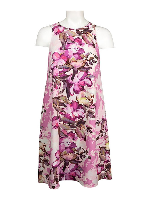 Adrianna Papell Floral Print Day Dress