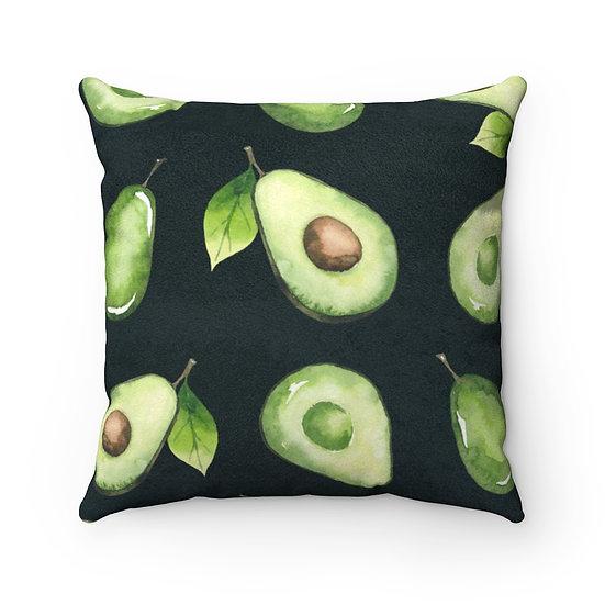 Cado Faux Suede Square Pillow
