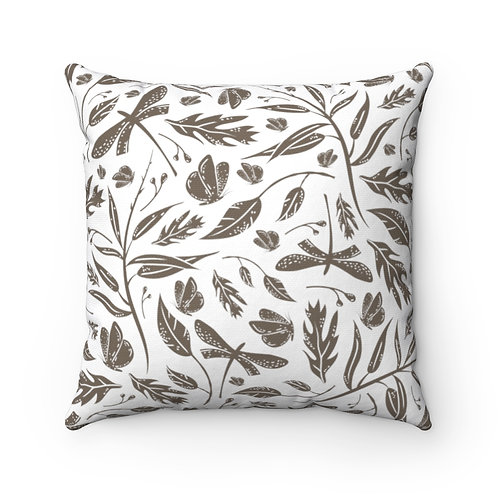 In the Woods Spun Polyester Square Pillow