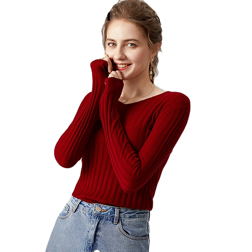 100% Wool Pullover Sweater