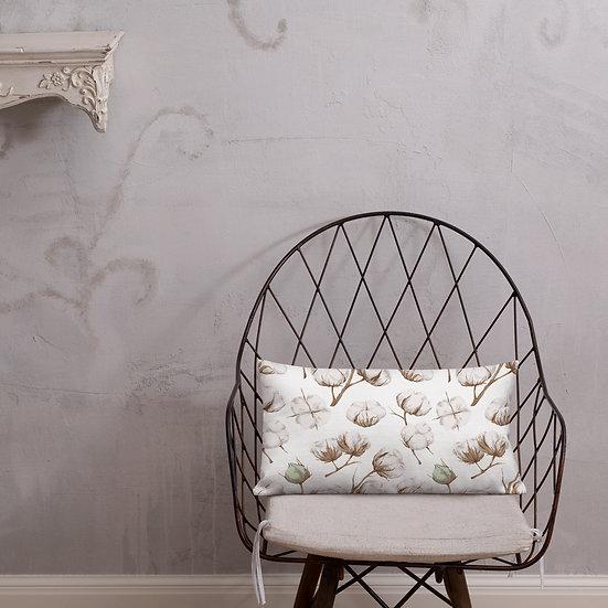 Cotton Blooms Premium Pillow