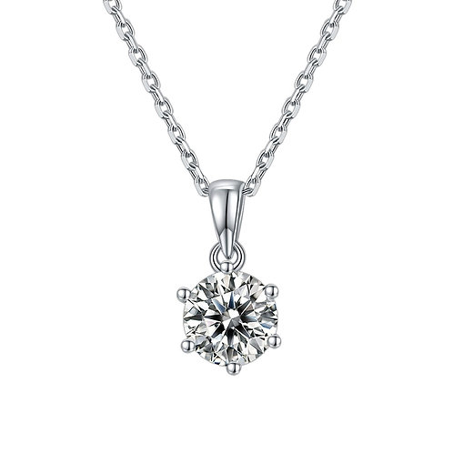 925 Sterling Silver Moissanite Classic Jewelry Set Moissanite Diamond