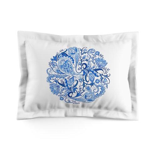 Blue Water Microfiber Pillow Sham