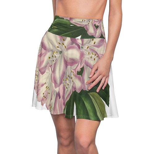 Big Rhododendron Women's Skater Skirt