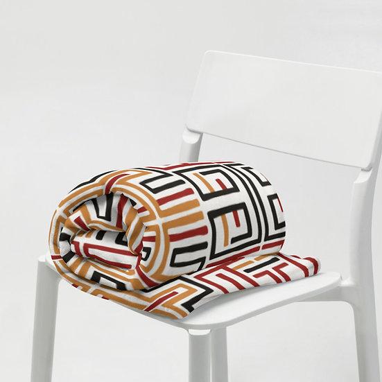 African Design #2 Throw Blanket