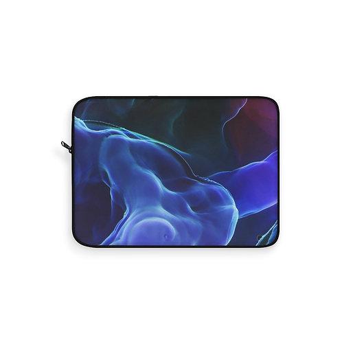 Magic Blue Smoke Laptop Sleeves