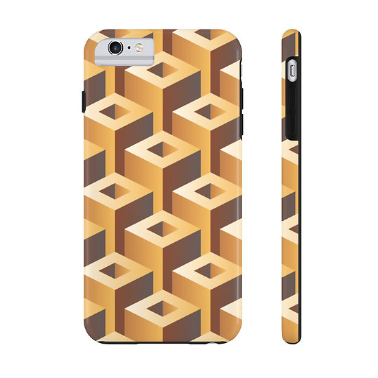 """Geo """"Waffle"""" Case Mate Tough Phone Cases"""