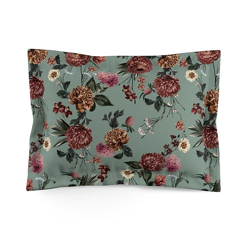 Melissa (Sage Green) Microfiber Pillow Sham