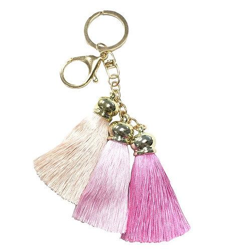 Capri Tassel Charm Pink