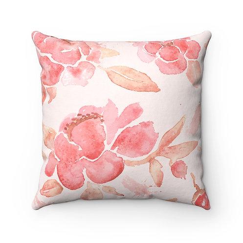 Erlinda Spun Polyester Square Pillows