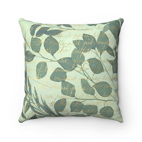 Forest Spun Polyester Square Pillow