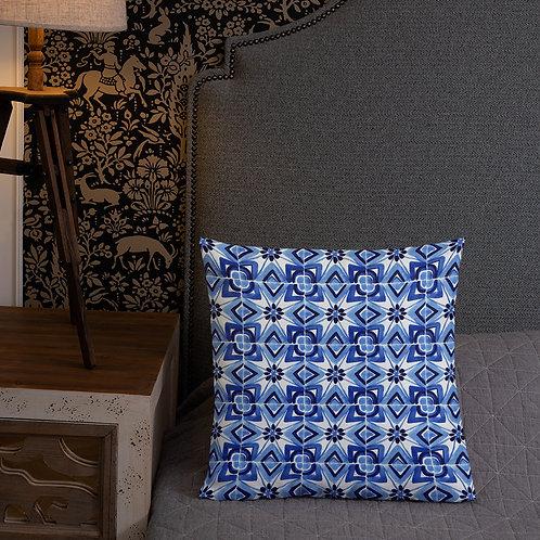 Italian Tile #220 Premium Pillow