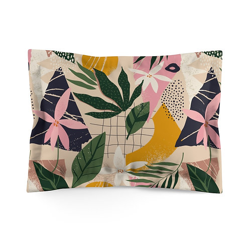 Hawaiian Mod Microfiber Pillow Sham