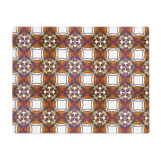 Brown checkers Placemat