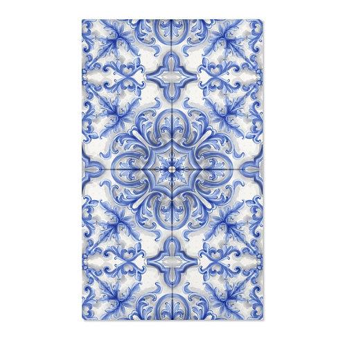 Dutch Blue Tile Area Rugs