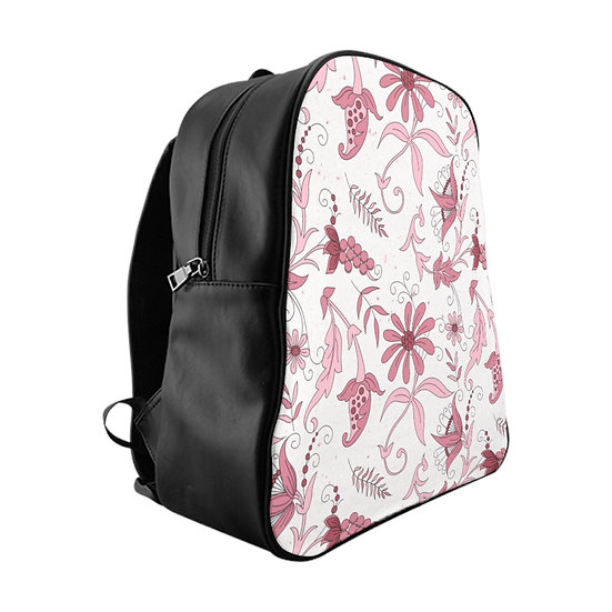 Pink Candy School Backpack