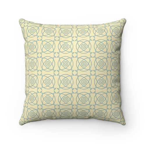 Lantana Faux Suede Square Pillow