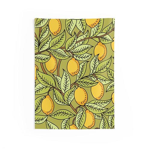Lemon Tree Indoor Wall Tapestries