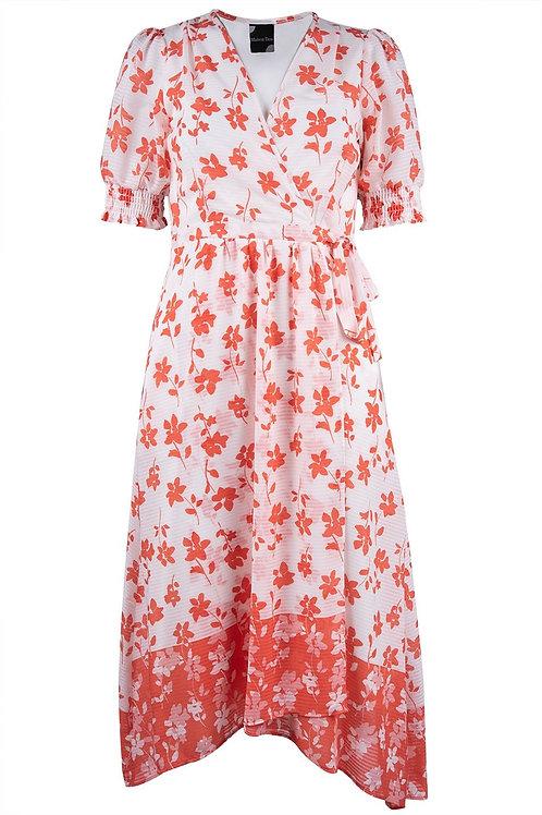 Maison Tara Illusion Wrap Dress