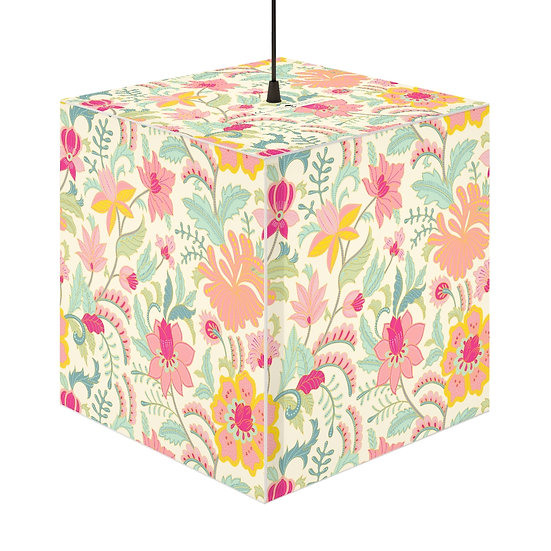 Blooming Pastels Personalized Lamp