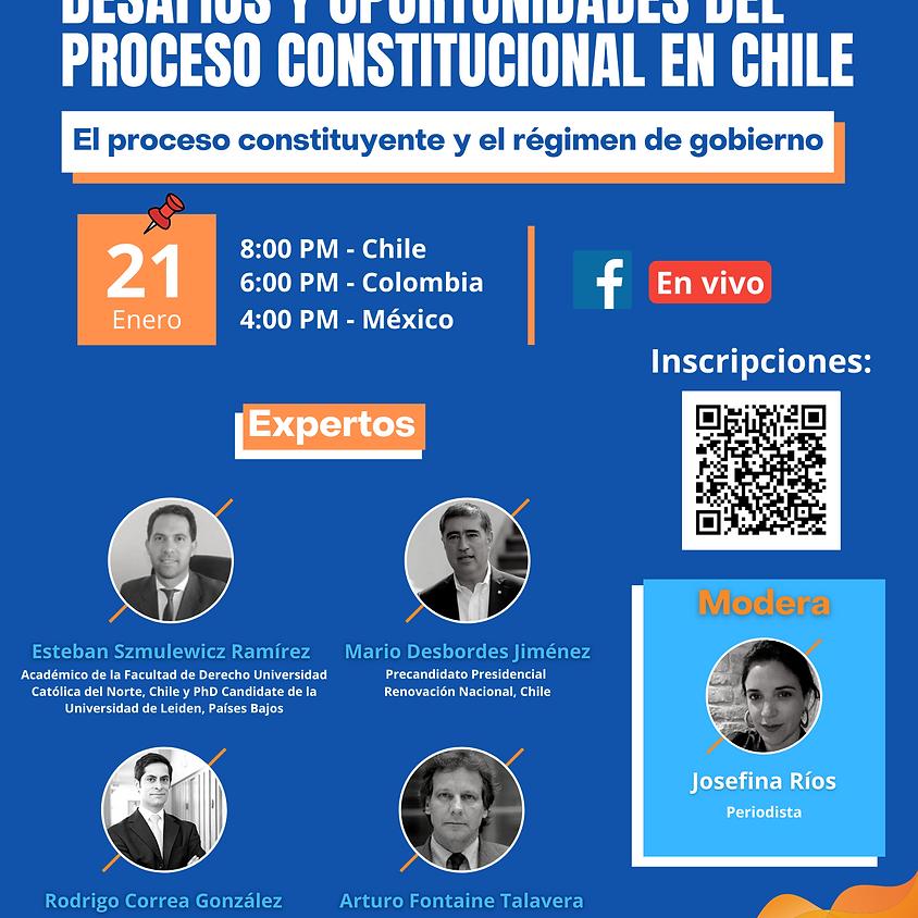 """Ciclo de Debates: """"Desafíos y oportunidades del proceso constitucional en Chile"""""""
