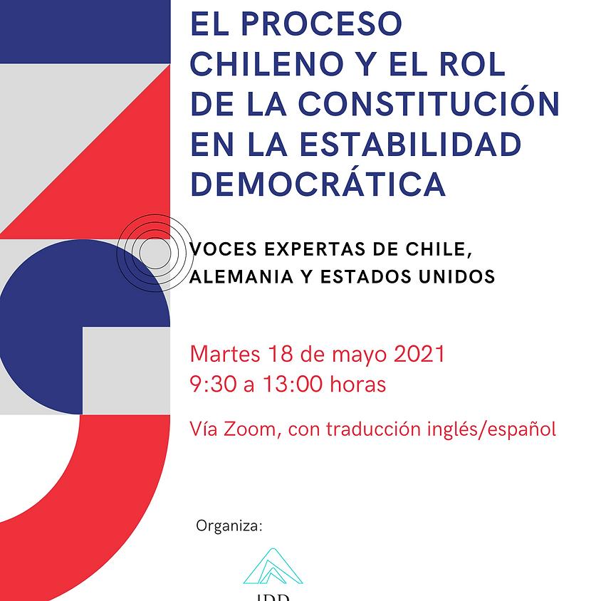 """IDD - Seminario Internacional """"El proceso chileno y el rol de la Constitución en la estabilidad democrática"""""""