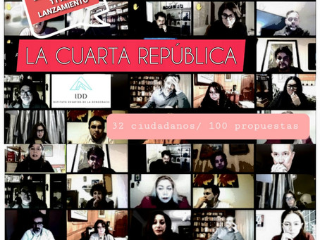 La IV República: Ideas para un gran acuerdo constitucional para Chile. 100 propuestas