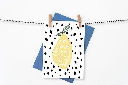Give me Lemons