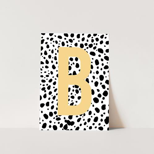 Dalmatian Letter - Print