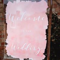 Blush Acrylic signage