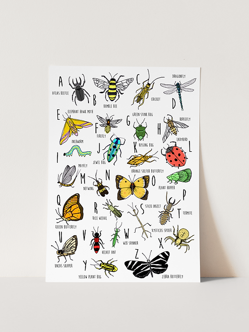 Bug ABC - Print