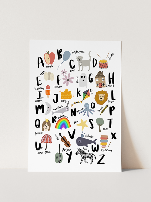 The ABC of Everything - Print