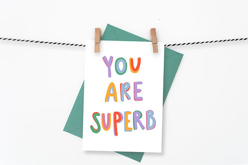 You are Superb