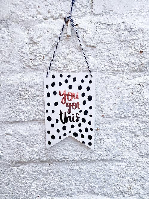 Dalmatian - You got this
