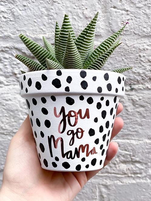 You go Mama Plant pot