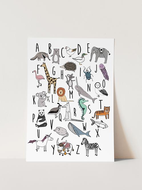 Animal ABC - Print